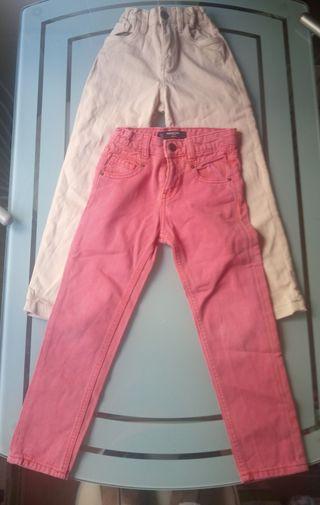 Lote pantalones niño 5-6 años