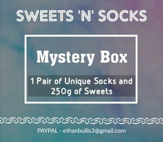 SWEETS 'N' SOCKS MYSTERY BOX