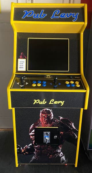 Maquina multijuegos Arcade