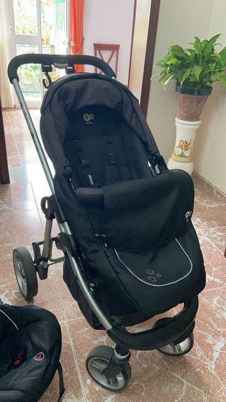 Antes 180€ - Carrito de bebé 3 piezas plegable