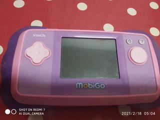 consola niños vtech MOBIGO( incluye2 juegos)