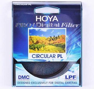 Hoya Pro 1 Digital Circular PL 77mm, montura negra