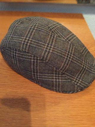 Gorra inglesa de hombre