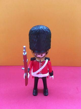 Playmobil guardia real británica inglés