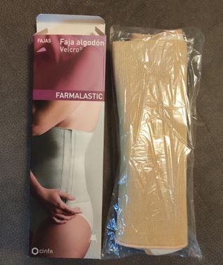 Faja de algodón para post-operatorio y post-parto