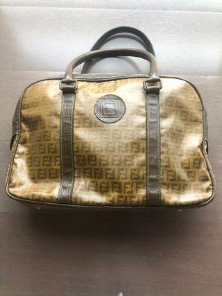 Bolso marrón vintage de Fendi