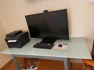 Mesa de cocina o comedor o escritorio extensible