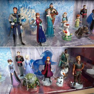 Disney playset figuras frozen 20 piezas