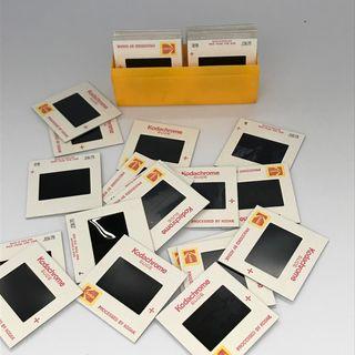 37 x 35mm Kodachrome dispositivas de color 1979