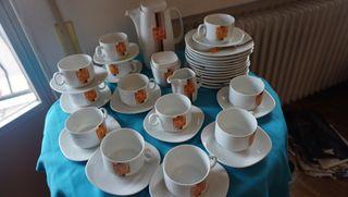 Juego café y tarta para 12( 39 piezas)