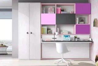Habitación con cama abatible smp