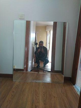 Espejo de portal escalera