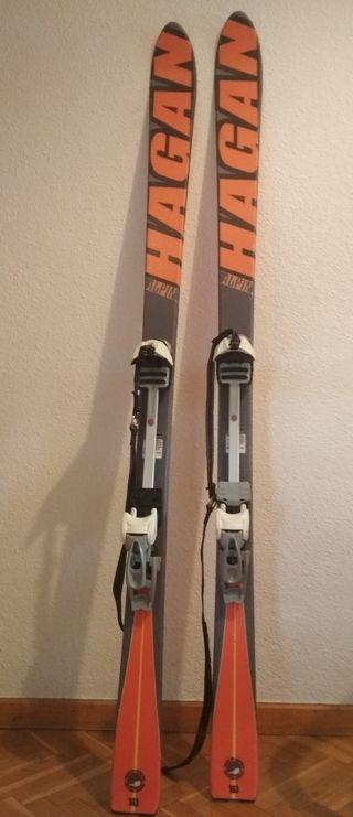 Esqui esquí de travesia