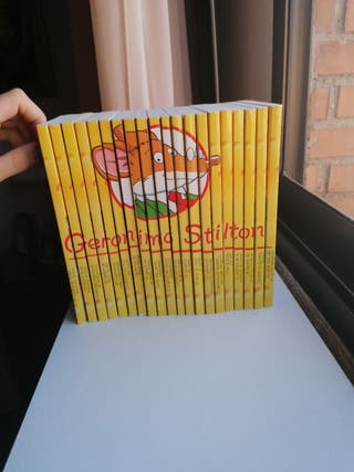 Coleccion completa Geronimo Stilton