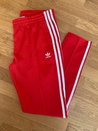 Pantalón chandal Adidas rojo T-40