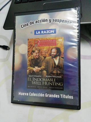 El indomable Will Hunting. Gus Van Sant. Peli DVD