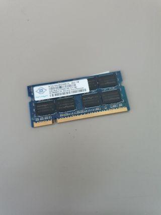 Modulo Ddr2 Sodimm 2GB