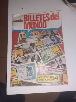 álbum de billetes del mundo 1974