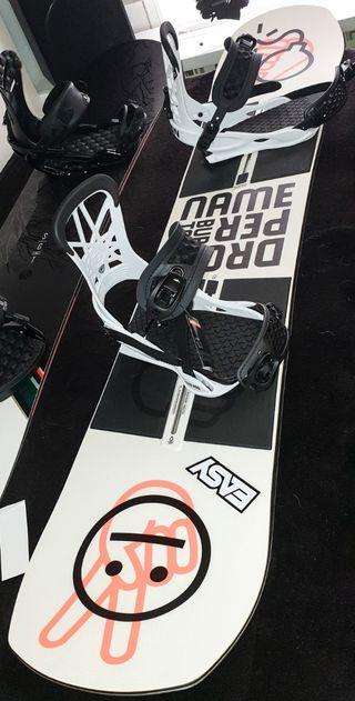 Tabla Snowboard Burton Name Dropper 151