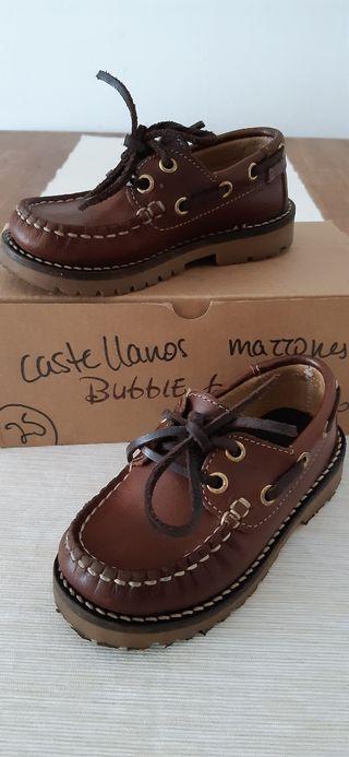 zapato castellano marrón 25