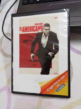 El americano. Anton Corbijn. Película DVD.