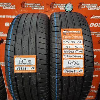 Neumaticos 215 55 16 97W XL Bridgestone. Ref 19343