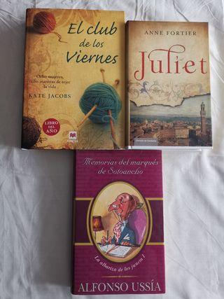 Libros: romance, ficción y humor