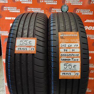 Neumaticos 215 60 17 96H Bridgestone. Ref 19143