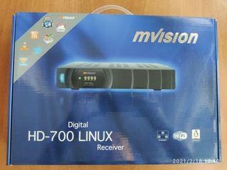 Receptor satelite Mvision HD 700 Linux