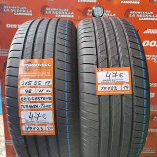 Neumaticos 215 55 17 98W XL Bridgestone. Ref 19123