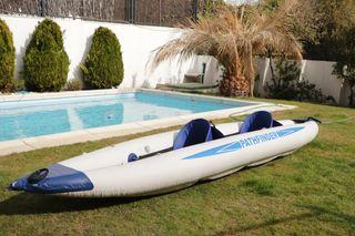 Kayak hinchable doble