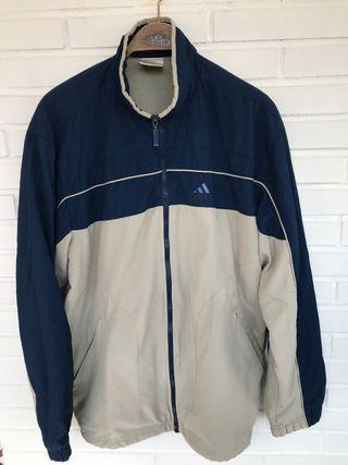 VINTAGE chaqueta chandal azul ADIDAS talla L-XL