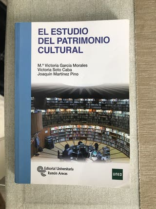Estudio del Patrimonio Cultural - Uned