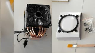 Disipador CPU 3 ventiladores procesador 6 heatpipe