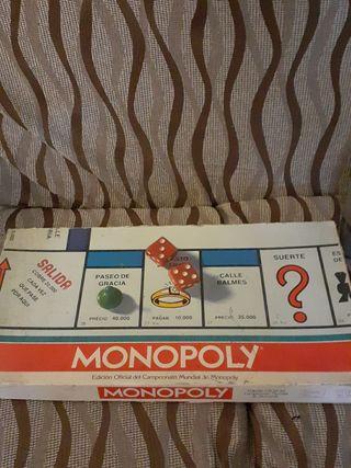 Monopoly edición oficial