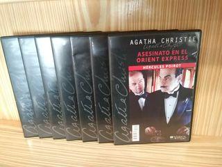 Colección dvd Agatha Christie 7 películas