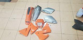Plastica Ktm exc 250
