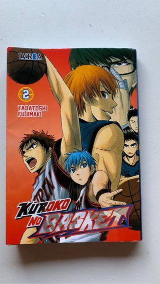 Cómic kuruko no basket volumen 2