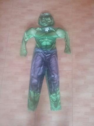 disfraz de Hulk.