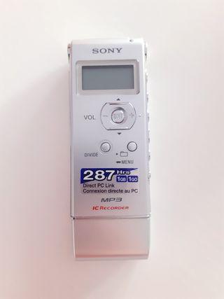Grabadora digital SONY