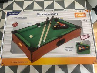 Billar americano de mesa