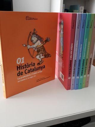 Història de Catalunya 7 toms Pilarin