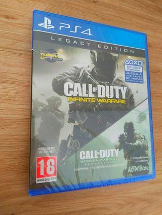 2 juegos Call of Duty PRECINTADOS PS4