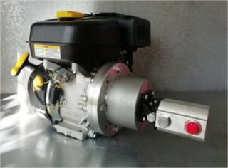 Grupo hidraulico con motor de gasolina