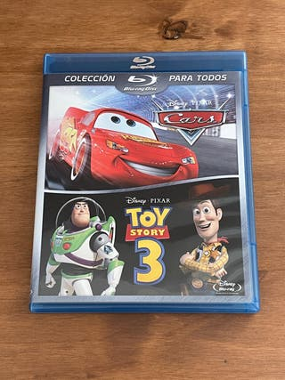 BlueRay TOY STORY 3 + CARS