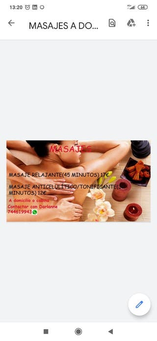 Masajes esteticos