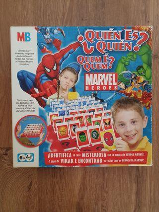 Juego Quién es quién, Marvel.