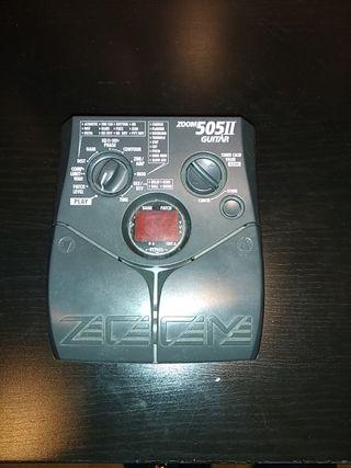 Pedal multiefectos guitarra eléctrica Zoom 505 2