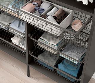 2x IKEA Wire storage baskets €15