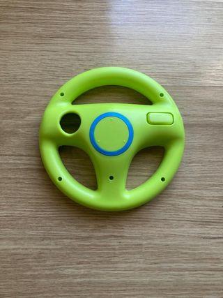 Wii wheel NO oficial verde y azul
